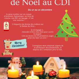 Prêt surprise de Noël au CDI